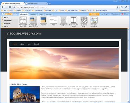 Creare un sito gratuitamente