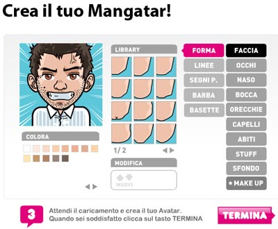 crea il tuo avatar gratis