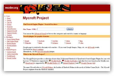 Aggiungere nuovi motori di ricerca nella barra di ricerca di firefox