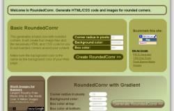 Creare box con angoli arrotondati senza software di grafica con Roundedcornr
