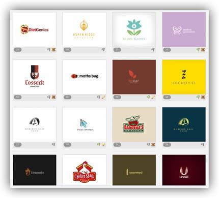 Siti per trovare l'ispirazione per creare un logo